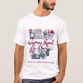 Gypsy Soul purple design T-Shirt