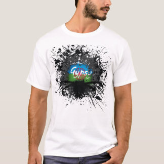Gypsy Splatter Photo - Customized T-Shirt