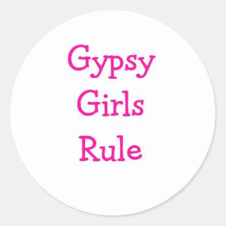 Gypsy stuff & TYSON FURY Round Sticker
