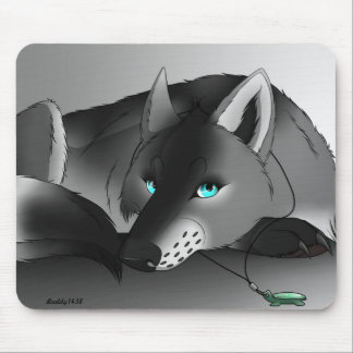 Gypsy the Wolf Mouse Pad