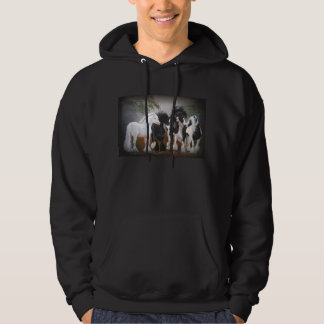Gypsy Vanner Hooded Sweatshirt