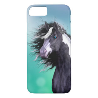 Gypsy Vanner Horse Head iPhone 7 case