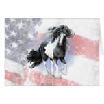 Gypsy Vanner Prince Greeting Card