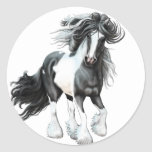 Gypsy Vanner...Prince Stickers