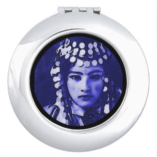 Gypsy Woman Costume Makeup Mirror