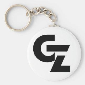 GZ Stamp Logo Keychain