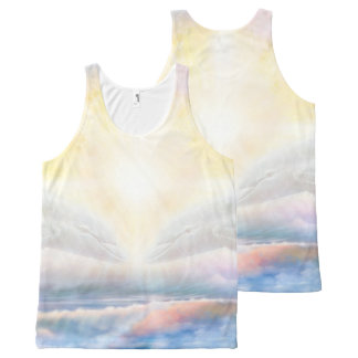 H006 Dolphins Heart All-Over-Print Tank Top