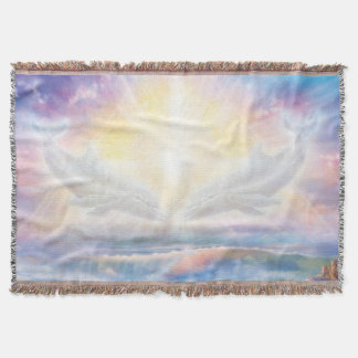 H006 Dolphins Heart Throw Blanket