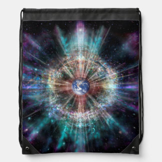 H007 Earth Aura Drawstring Bag