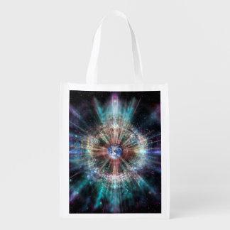 H007 Earth Aura Reusable Grocery Bag