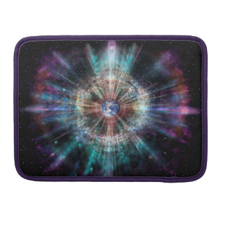 H007 Earth Aura Sleeve For MacBook Pro