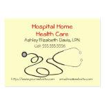 H008 BIZ Chby - Stethoscope design 2 Business Cards