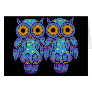 H00t Owl Halloween Greeting Card