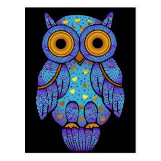 H00t Owl Midnight Madness Postcard