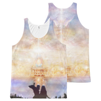 H010 Welcome Home All-Over-Print Tank Top