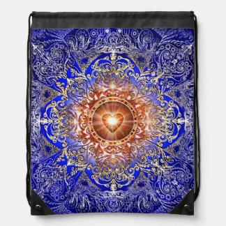 H011 Heart Constellation Drawstring Bag