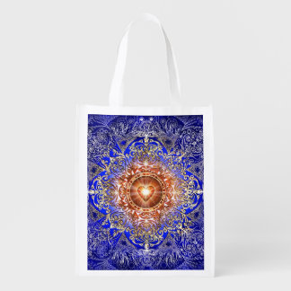H011 Heart Constellation Grocery Bag