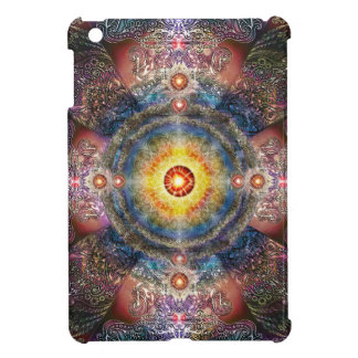 H012 Heart Mandala 2 iPad Mini Cover