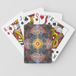 H012 Heart Mandala 2 Playing Cards