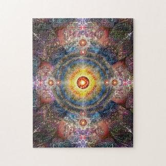 H012 Heart Mandala 2 Puzzles