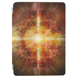 H014 Heart Mandala Brown iPad Air Cover
