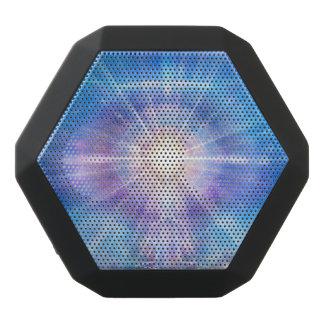 H016 Meditator Heart Blue Black Bluetooth Speaker