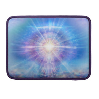 H016 Meditator Heart Blue Sleeve For MacBook Pro