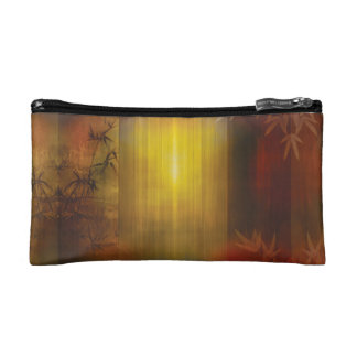 H017 Zen Screen Rust Cosmetic Bags