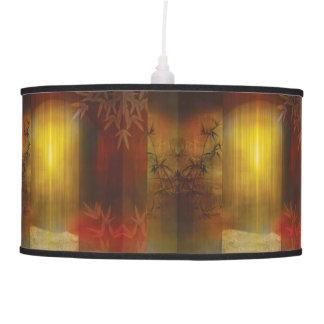 H017 Zen Screen Rust Pendant Lamp
