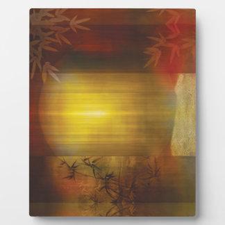 H017 Zen Screen Rust Plaque