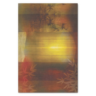 H017 Zen Screen Rust Tissue Paper