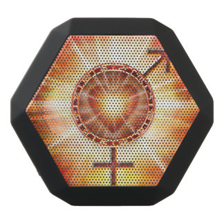 H020 Venus Mars Unite Black Bluetooth Speaker