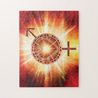H020 Venus Mars Unite Jigsaw Puzzle
