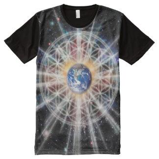 H022 Earth Aura All-Over-Print T-Shirt