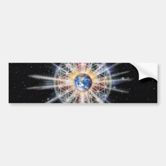 H022 Earth Aura Bumper Sticker