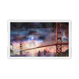 H024 Bridge to Truth Acrylic Tray