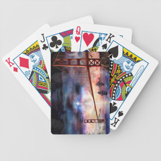 H024 Bridge to Truth Bicycle Playing Cards
