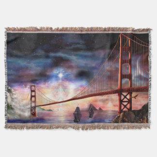 H024 Bridge to Truth Throw Blanket
