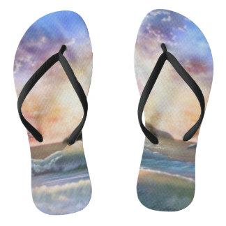 H026 Enchanted Isle Flip Flops