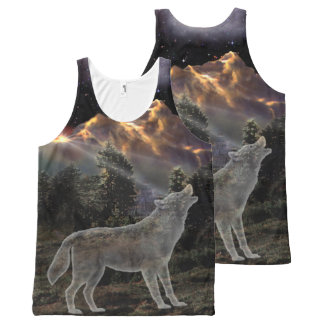 H029 Star Wolf All-Over-Print Tank Top