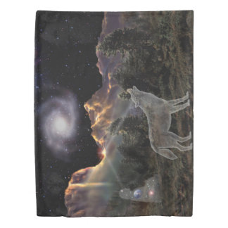 H029 Star Wolf Duvet Cover