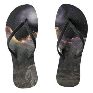 H029 Star Wolf Flip Flops