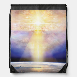 H030 Heaven & Earth Drawstring Bag