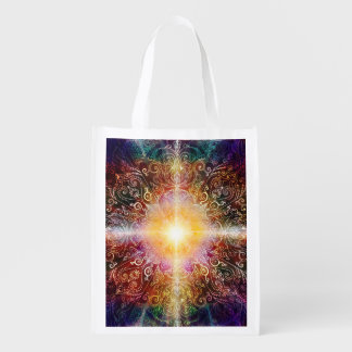 H032 Mandala 2012-5 Reusable Grocery Bags