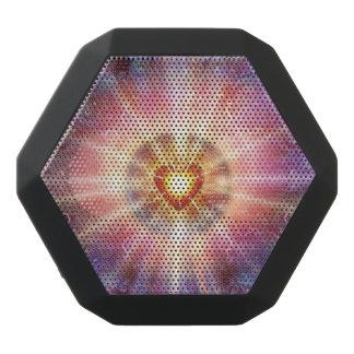 H034 Radiant Heart Black Bluetooth Speaker