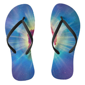 H035 Rose Wings Flip Flops