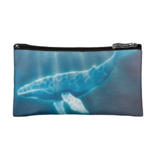 H036 Whale Below Cosmetic Bag