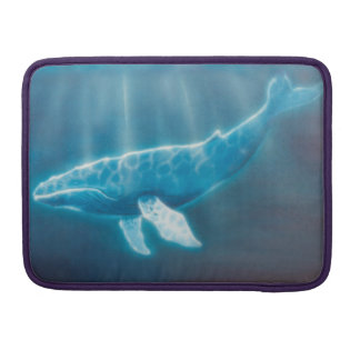 H036 Whale Below Sleeve For MacBooks