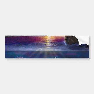 H037 Scorpio Sunset Bumper Sticker