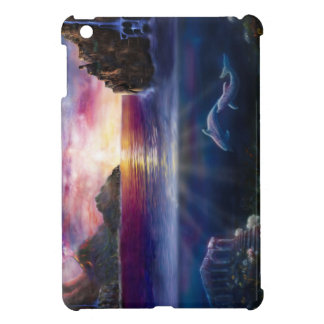 H037 Scorpio Sunset iPad Mini Cover